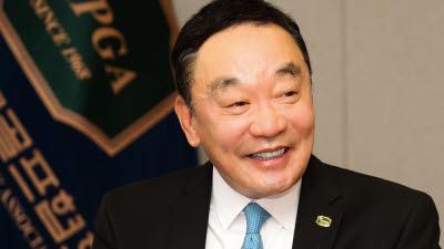KPGA 구자철 회장, 우승 김시우에게 축전
