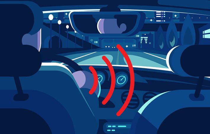 자율차에는 탑승자를 센싱하는 기술이 비중 있게 사용될 전망이다.<사진=현대모비스>