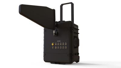 담스테크, 비대면 솔루션 온라인 드론 전시회 참여…전파차단 장비 소개
