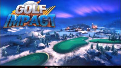 네오위즈 모바일 신작 '골프 임팩트' 출시