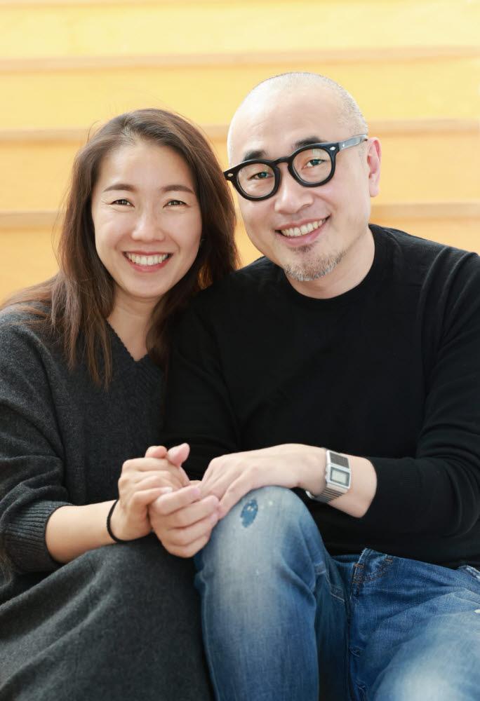 18일(한국시간) 더기빙플레지에 한국인 최초 기부자로 등록된 김봉진(오른쪽), 설보미 부부
