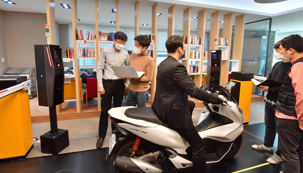 유니온커뮤니티, 오토바이 뒷번호 인식기술 베트남 수출 본격화