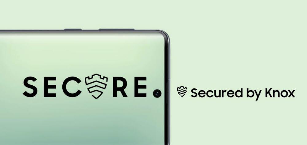 삼성전자 모바일 보안 플랫폼 녹스