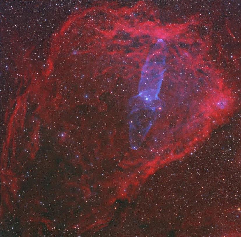 제28회(지난해) 천체사진공모전 대상 수상작. 장승혁의 거대우주 오징어