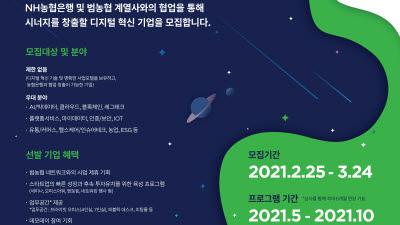NH농협은행, 혁신기업 육성 'NH디지털챌린지+' 5기 모집