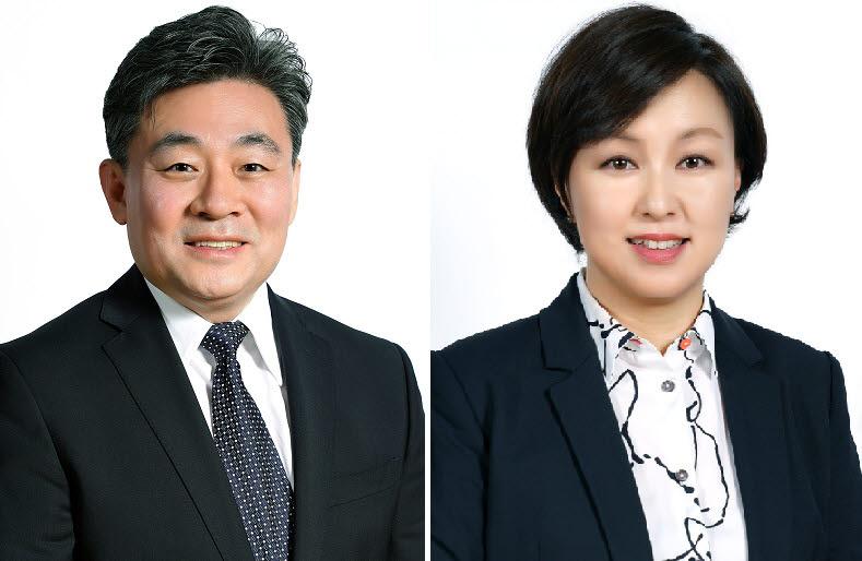 오상호 디즈니 코리아 신임 대표(왼쪽)와 김소연 디즈니 코리아 DTC사업부 총괄