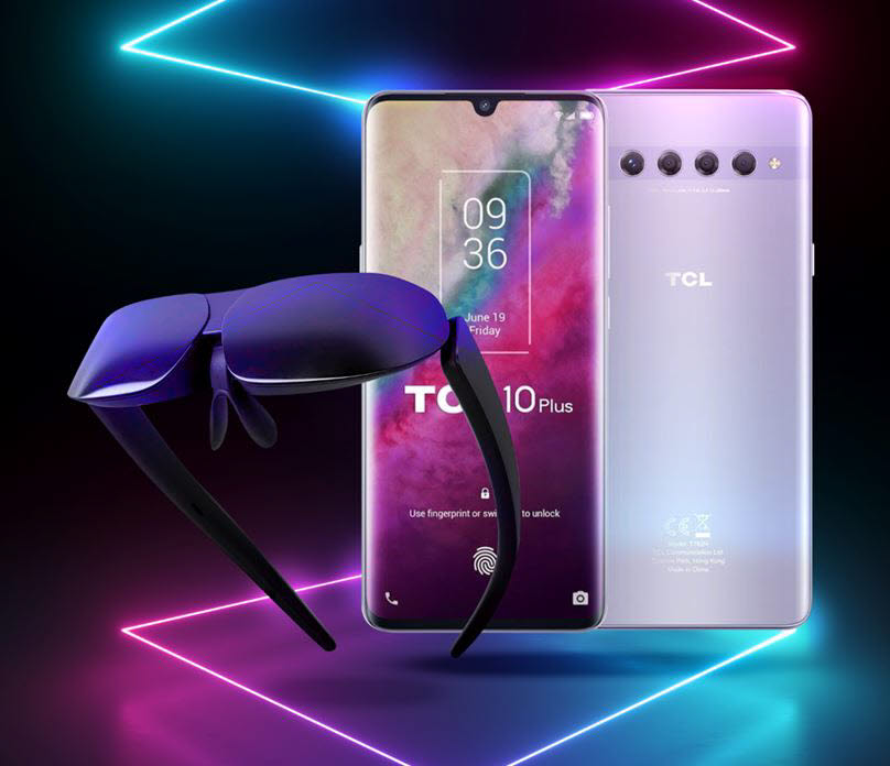 TCL MOLED G와 TCL 10 플러스