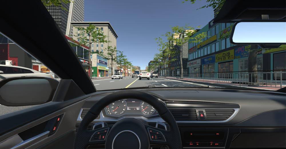 스튜디오코인이 개발한 운전 중 교통사고 PTSD 완화 VR 기반 ICT 심리케어 콘텐츠.