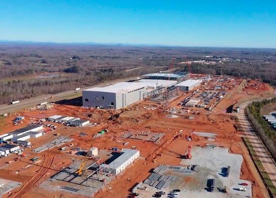 SK이노베이션 미국 조지아주 배터리 공장.