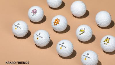 어피치, 튜브, 무지까지...카카오프렌즈 골프, R3 신제품 출시
