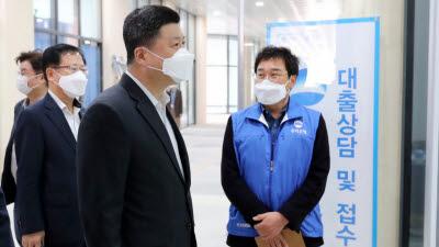 권광석 우리은행장, 연임 후 첫 행보는 '현장경영'