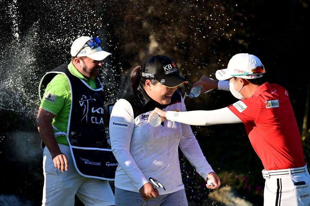 박인비가 기아 클래식에서 우승을 차지했다. 사진제공=LPGA / Getty Images