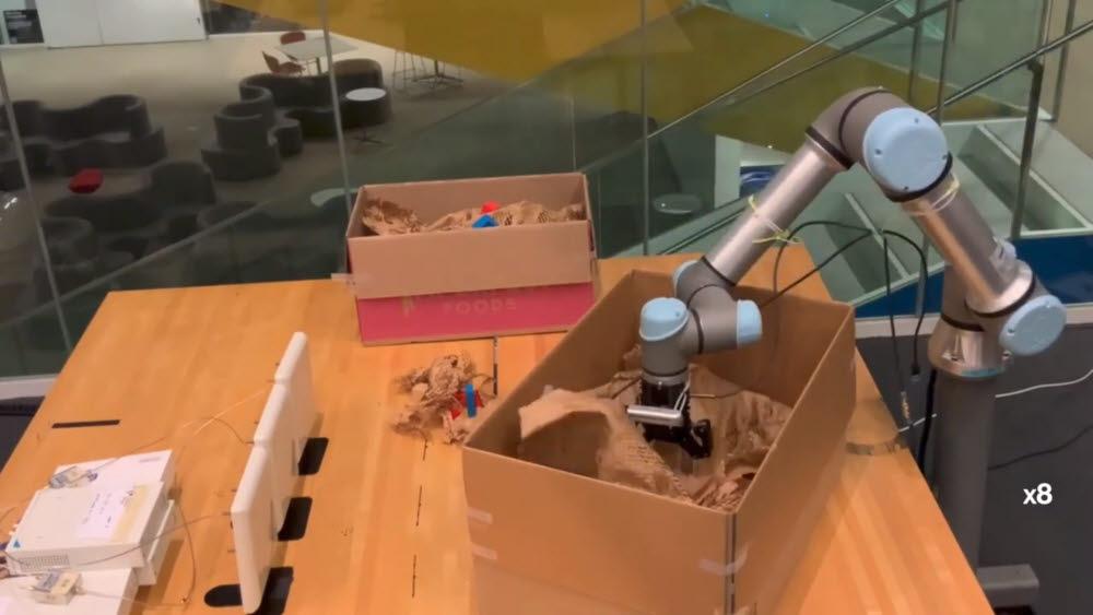 MIT 연구진이 개발한 로봇 RF-그래스프. <사진=MIT>