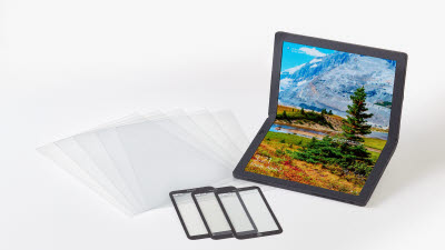 코오롱인더스트리, 중대형 폴더블 디스플레이용 '투명 PI 필름' 세계 최초 상용화