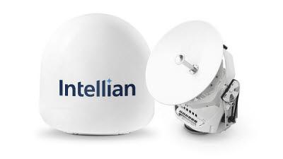 인텔리안테크, 초소형 해양용 위성통신안테나 v45C 전 세계 출시