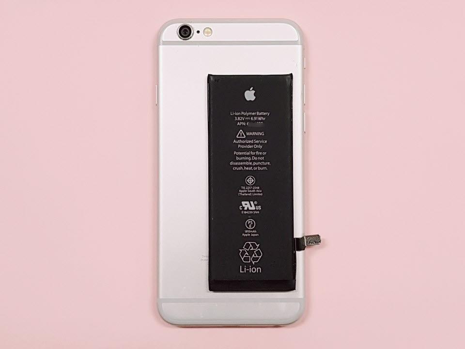 아이폰6와 배터리