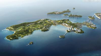 미래에셋컨소시엄, '여수 경도해양관광단지' 1조 5천억원 투자 본격화