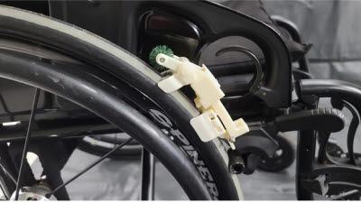 휴텍, 주행·세척 가능한 '휠체어 바퀴 휴대용 청소모듈' 개발