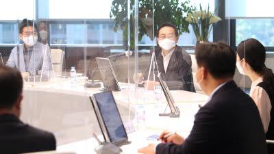 손태승 우리금융 회장, 자회사 임직원과 간담회