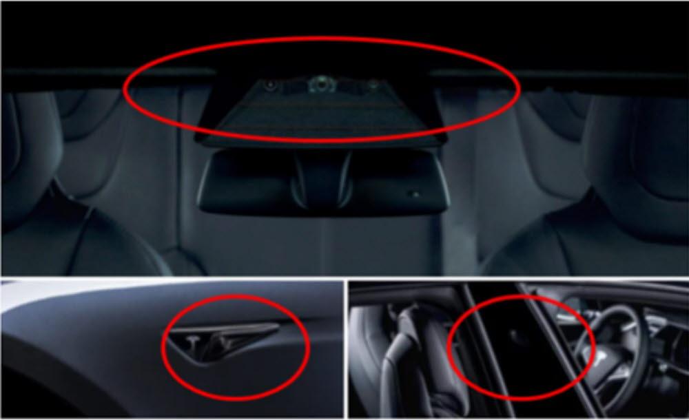 테슬라는 8개의 카메라 영상을 통해 이미지 판단·예측해 주행한다.