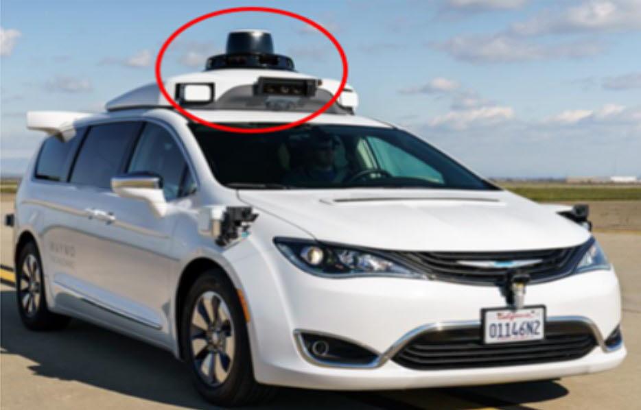 구글 웨이모는 초정밀지도 저장 후 라이다(LiDAR)를 통해 GPS·지도 대조 후 주행한다.