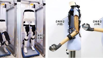 기계연, 의복형 웨어러블 로봇 기술 개발..'택배·건설노동 환경 개선에 기여'