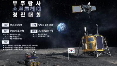 달 탐사 '로버' 내 손으로...항우연, 1회 우주탐사 SW 경진대회 개최