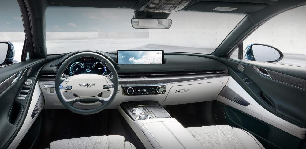 제네시스, 'G80'기반 전기차 첫 공개...아이오닉5·EV6와 中 공략