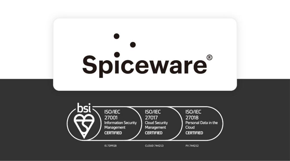 스파이스웨어가 국제 표준 정보보호인증(ISO/IEC)을 3개 부문에서 획득했다. 스파이스웨어 제공