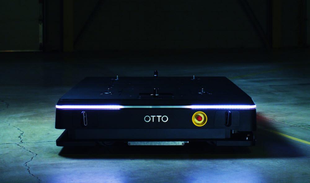 오토 모터스가 출시한 자율 물류운반 로봇 오토 1500. <사진=오토모터스>