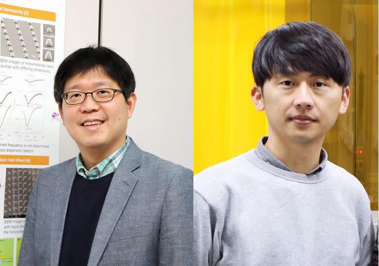 노준석 교수(왼쪽)와 윤관호 박사