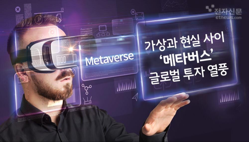 [모션그래픽]가상과 현실 사이 '메타버스' 글로벌 투자 열풍