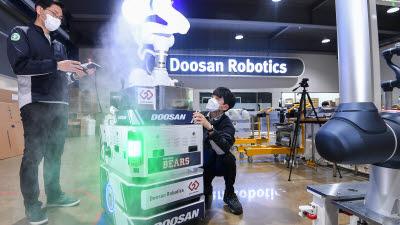 다중이용시설 방역, 자율주행 로봇이 책임진다