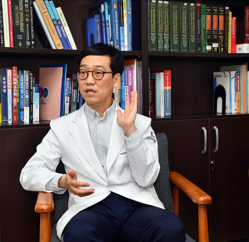 김응수 김안과병원 데이터센터장(사시·소아안과센터 교수)