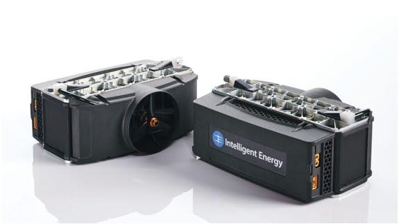 호그린에어가 드론시장에 진출하기 위해 개발한 수소연료전지모듈(FCPM).