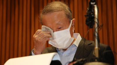 '불가리스 사태' 관련 대국민 사과하는 홍원식 남양유업 회장