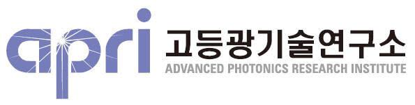 GIST 고등광기술연구소 로고.