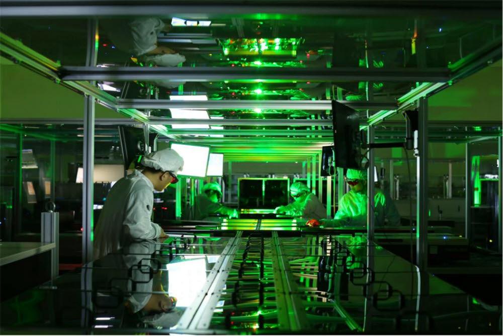 페타와트(PW) 레이저 실험 모습