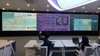 대우조선해양, 육상관제센터 가동...디지털전환 가속