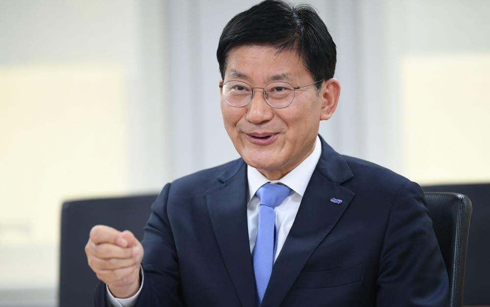 정동희 한국전력거래소 이사장. 이동근기자 foto@etnews.com