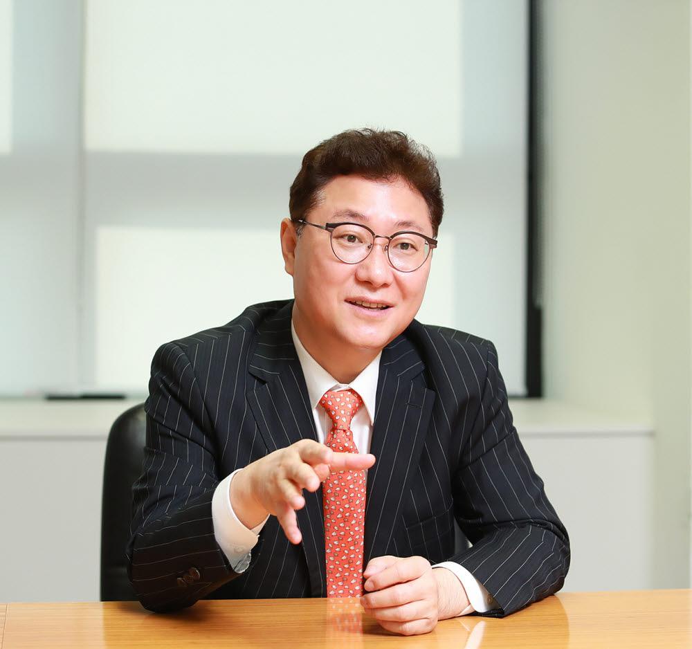 김영준 매그나칩반도체 대표. <사진=매그나칩반도체>