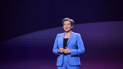 리사 수 AMD CEO, 컴퓨텍스 2021 기조연설