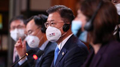 """삼성·SK·현대차·LG 미국에 40조원 대규모 투자...문 대통령, 한미 양국은 """"최적의 파트너"""""""