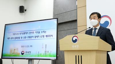 """국세청 """"암호화폐로 수익 숨기고 탈세""""...67명 세무조사"""
