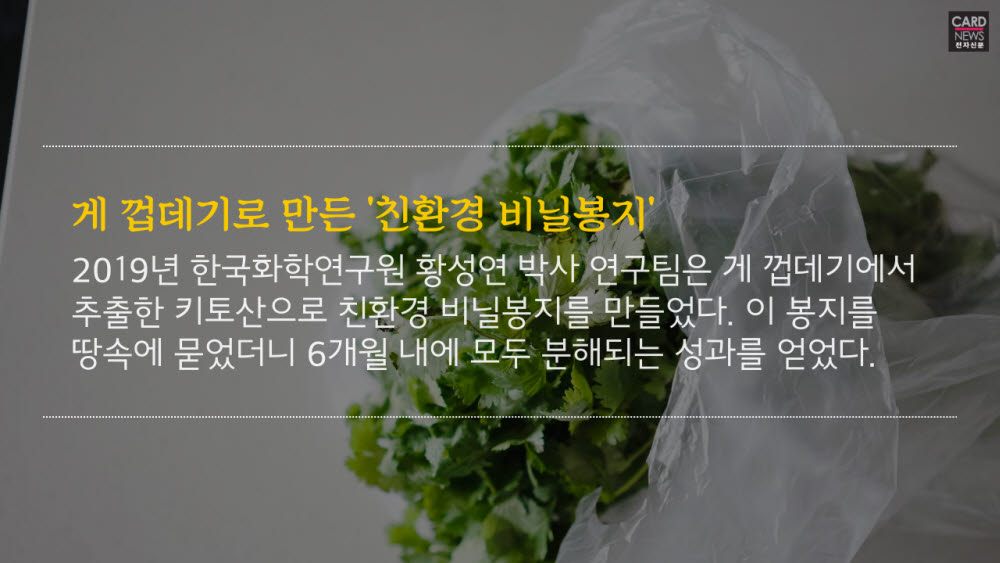 [카드뉴스]지구 살리는 '바이오 플라스틱'