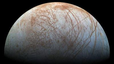 목성의 달 '유로파' 해저 화산 존재 가능성