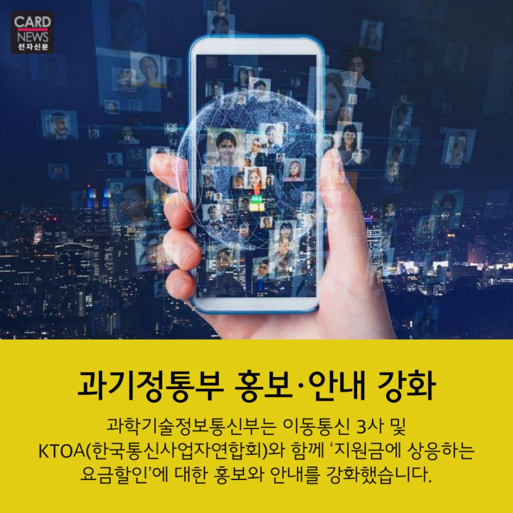 [카드뉴스]휴대폰요금 25% 할인…'선택약정' 챙기셨나요?