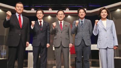 국민의힘 당대표 후보, 대선 경선룰 놓고 이견