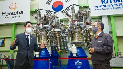 """용홍택 차관 """"민간과 협력해 우주 산업 활성화"""""""