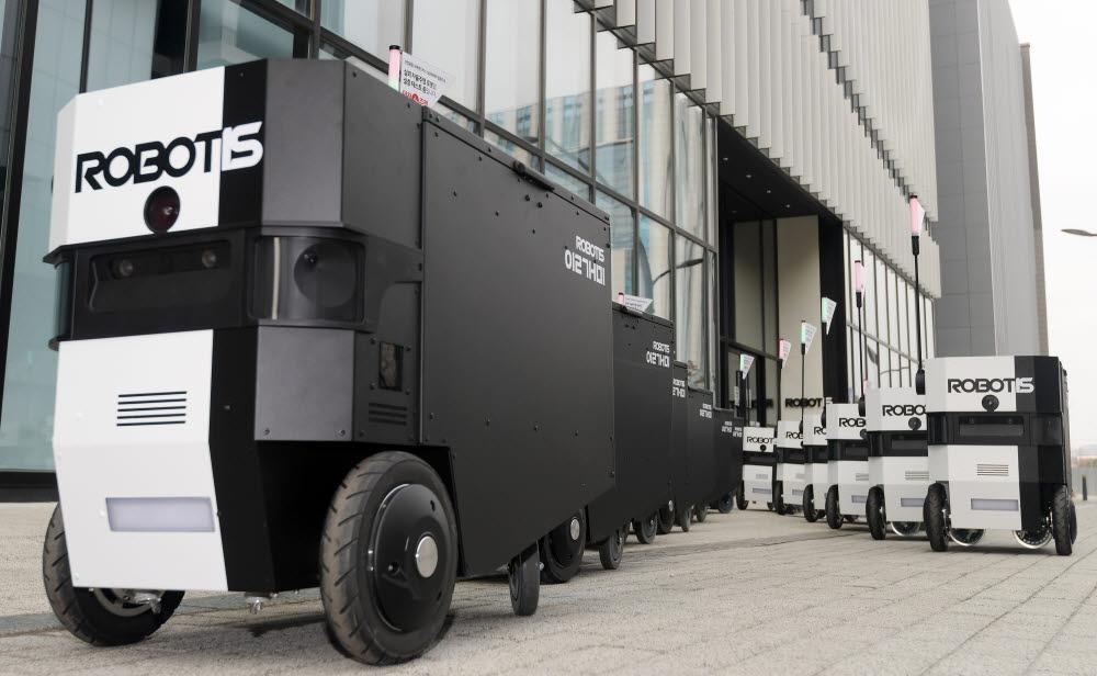 [미래기업 포커스]로보티즈, '자율주행로봇'...실외배송 등 혁신 박차